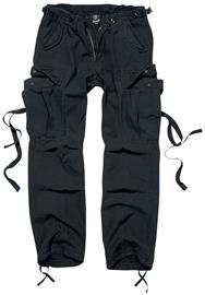 Brandit - M65 Ladies Trousers - Reisitaskuhousut - Naiset - Musta