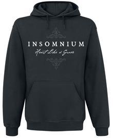 Insomnium - Heart Like a Grave - Huppari - Miehet - Musta