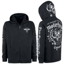 Motörhead - England - Vetoketjuhuppari - Miehet - Musta