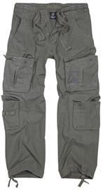 Brandit - Pure Vintage Trousers - Reisitaskuhousut - Miehet - Oliivi