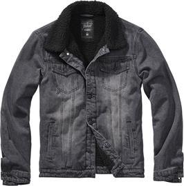 Brandit - Sherpa Denimjacket - Farkkutakki - Miehet - Musta