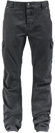 Brandit - Rocky Star Pants - Reisitaskuhousut - Miehet - Hiilenharmaa