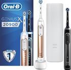 Braun Oral-B Genius X 20900 Duopack, sähköhammasharja (kaksi runko-osaa)