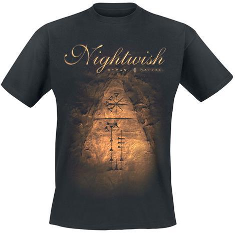 Nightwish - Human. :||: Nature. - T-paita - Miehet - Musta