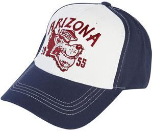 King Kerosin - Arizona - Lippis - Miehet - Valkoinen sininen