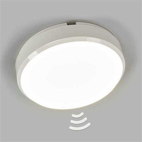 Starlicht Pyöreä LED-kattovalaisin Bulkhead tunnistimella