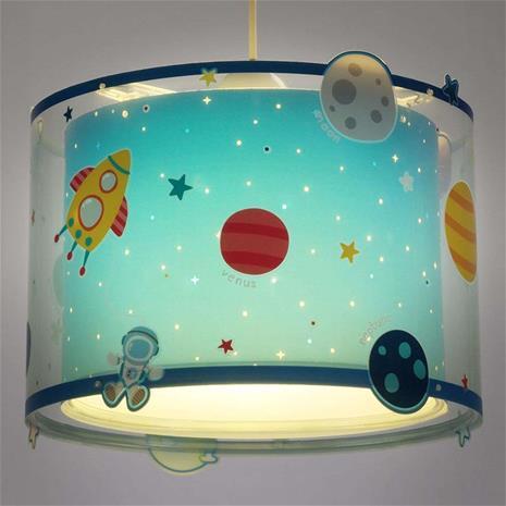 Dalber Planets – lastenhuoneen kuvioitu riippuvalaisin