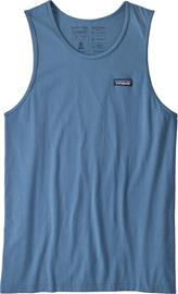 Patagonia P-6 Label Organic Tank Men, pigeon blue