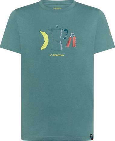 La Sportiva Breakfast T-Shirt Men, pine