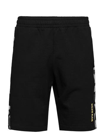 Calvin Klein Performance Camo 9 Knit Shorts Shorts Casual Musta Calvin Klein Performance CK BLACK CAMO