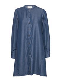 Karen By Simonsen Taliakb Dress Lyhyt Mekko Sininen Karen By Simonsen ESTATE BLUE