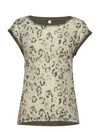 Soyaconcept Sc-Sue T-shirts & Tops Short-sleeved Vihreä Soyaconcept ARMY COMBI
