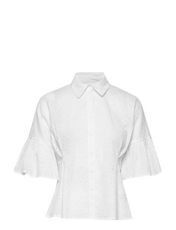 By Malina Marina Blouse Blouses Short-sleeved Valkoinen By Malina WHITE