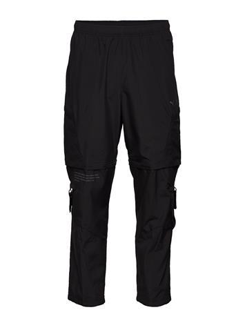 PUMA First Mile 2in1 Woven Pant Rennot Housut Arkihousut Musta PUMA PUMA BLACK