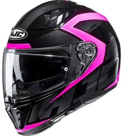 HJC I 70 Astro MC8 musta/pinkki umpikypärä