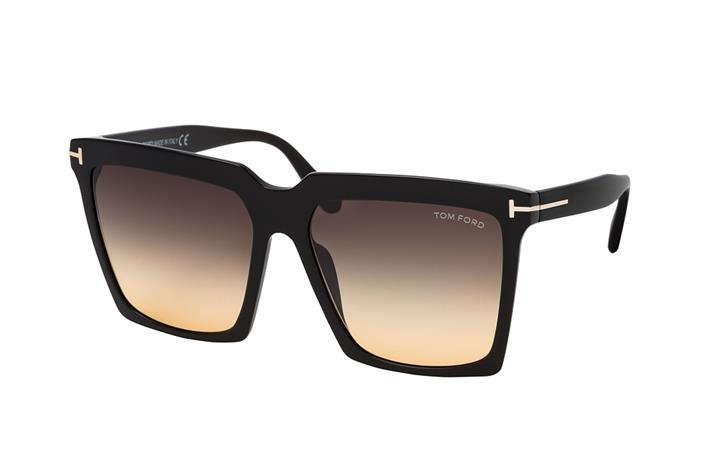 Tom Ford Sabrina 02 FT 0764 01B, Aurinkolasit