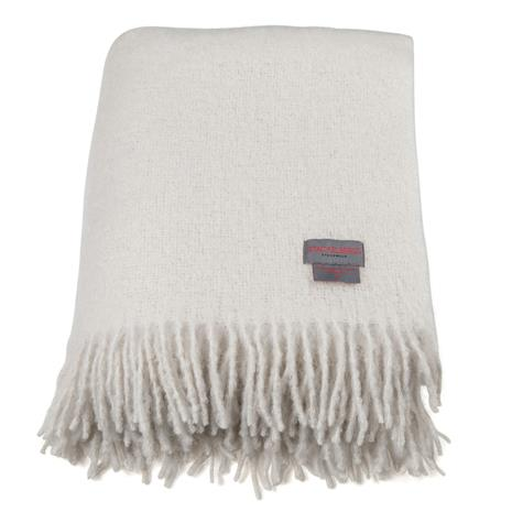 Stackelbergs Mohair Rolled Fringes Blanket 130x170 cm, Peitot ja tyynyt