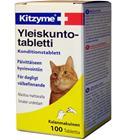 Kitzyme 100 kpl kissan yleiskuntotabletti