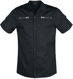 Jawbreaker - Pentagram Shirt - Lyhythihainen kauluspaita - Miehet - Musta