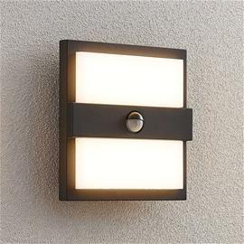 Lucande Lucande Gylfi -LED-seinälamppu, neliö, sensori