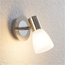 ELC ELC Kamiran -LED-spotti, lasivarjostin, 1-lamp.