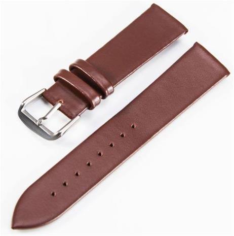 Klockarmband brunt 20mm
