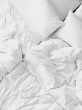 Tyynyliina 50 x 60 cm 2 kpl valkoinen
