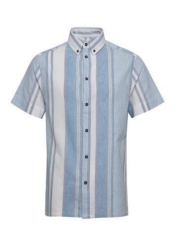 Anerkjendt Akkian Shirt Lyhythihainen Paita Sininen Anerkjendt CAMEO BLUE