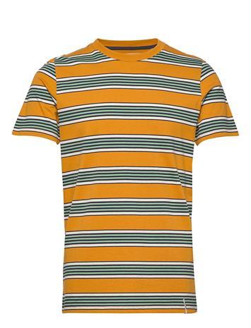 Anerkjendt Akrod T-Shirt T-shirts Short-sleeved Keltainen Anerkjendt INCA GOLD