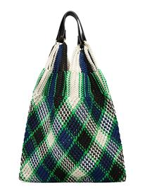 By Malene Birger Liv Tote Bags Top Handle Bags Monivärinen/Kuvioitu By Malene Birger BRIGHT GREEN