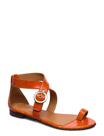 Billi Bi Shoes 4142 Matalapohjaiset Sandaalit Oranssi Billi Bi CORAL MONTEREY/GOLD 272