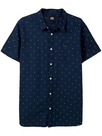 Animal Local Shirt indigo blue Miehet
