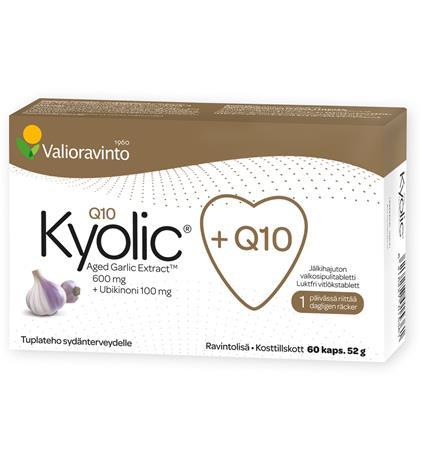 Valioravinto Kyolic Q10 60 kaps. ravintolisä