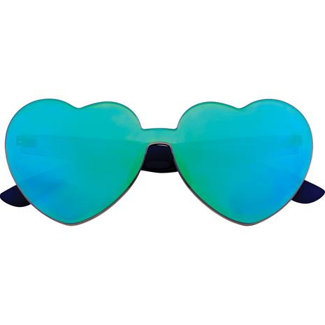 Sunnylife Heart Sunglasses, Midnight Iridescent