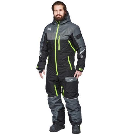 Sweep Snowcore CX musta/harmaa kelkkahaalari
