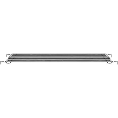 Montana Panton Wire Suspended Shelf -D34,8 Chrome