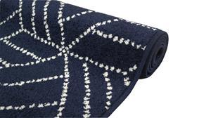 Jysmä Sarka-nukkamatto, sininen, 160 x 230 cm