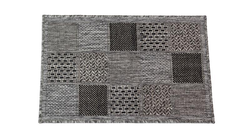 Jysmä Liisa-Sisalo käytävämatto, hopea/musta, 80 x 300 cm
