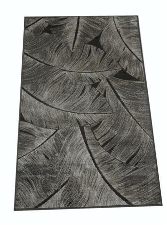 Jysmä Aurora-viskoosimatto, harmaa, 67 x 110 cm
