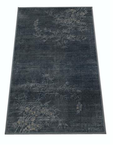 Jysmä Aada-viskoosimatto, sininen, 67 x 220 cm