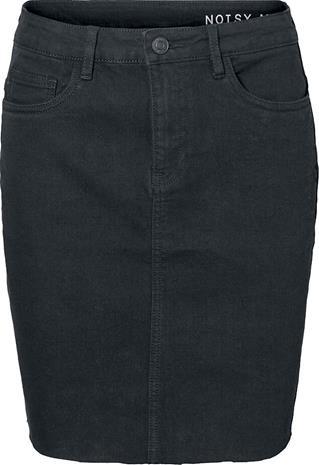 Noisy May - Callie Short Skirt - Lyhyt hame - Naiset - Musta