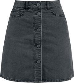 Noisy May - Sunny Short Skater Skirt - Lyhyt hame - Naiset - Musta