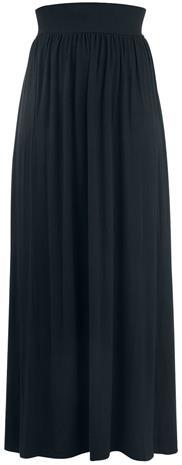 Rotterdamned - Long Skirt - Pitkä hame - Naiset - Musta