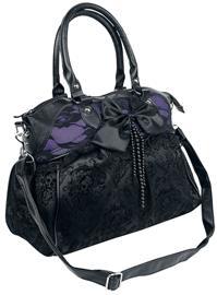 Banned Alternative - Katebag - Käsilaukku - Naiset - Musta lila