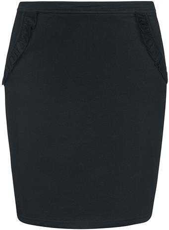 Vive Maria - Gamine Sweat Skirt - Keskipitkä hame - Naiset - Musta