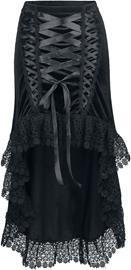 Sinister Gothic - Gothic Skirt - Pitkä hame - Naiset - Musta
