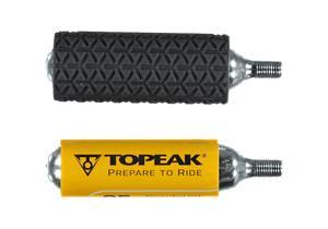 Topeak CO2 CARTRIDGE 25G 2P BLACK