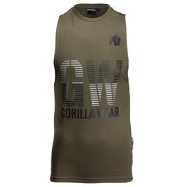 Dakota Sleeveless T-Shirt, Army Green
