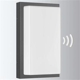 LCD Ulkoseinälamppu Babett liikeilmaisimella