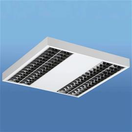 Lenneper Lak LED-kattolamppu pienluminanssiritilällä